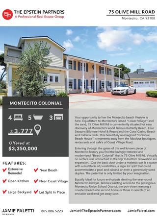 Property Open House Flyer