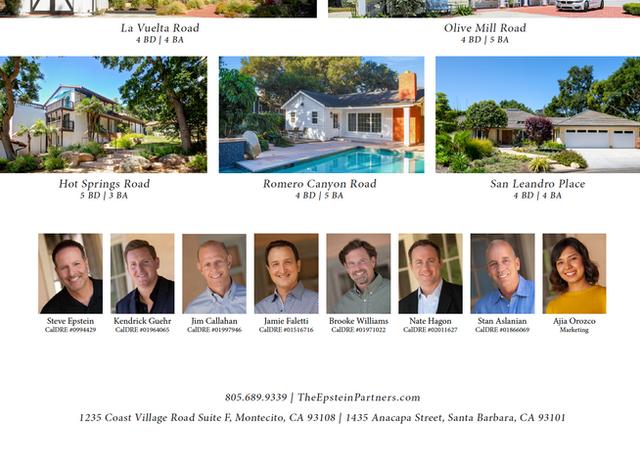 Featured Properties in Montecito Journal