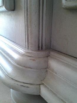 Patine meuble meurisier seine et marne Chalk paint annie sloan comme dans un moulin