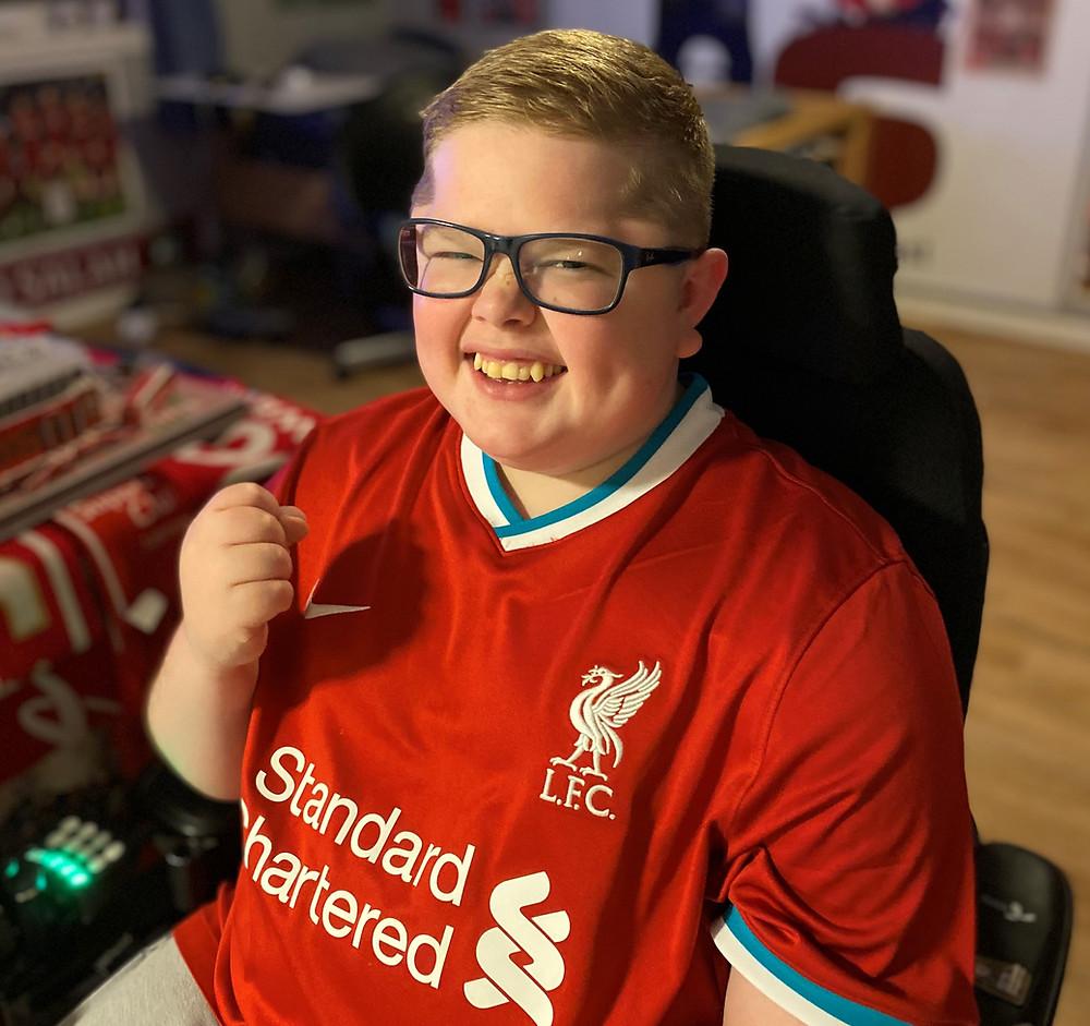 Simen Andersen lever og føler Liverpool 24/7, 365 dager i året!