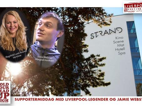 Supportermiddag med Jamie og legender!