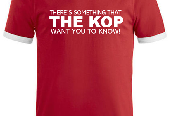 The Kop (Rød/hvit/sort)