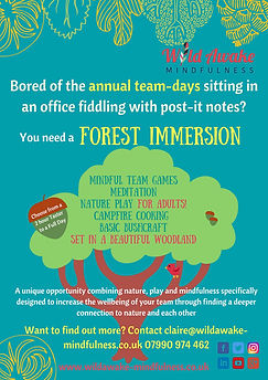1Forest Immersion Unique Team Days_ Wild