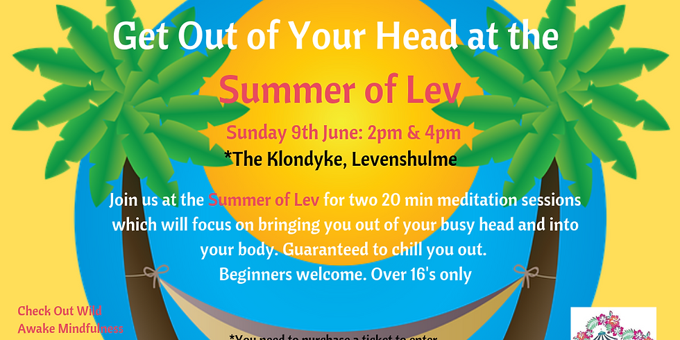 Get Out of your Head at the Summer of Lev