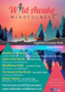 Mindfulness Nature Manchester Levenshulme Highfield Mediation Shaminism Singing Woods