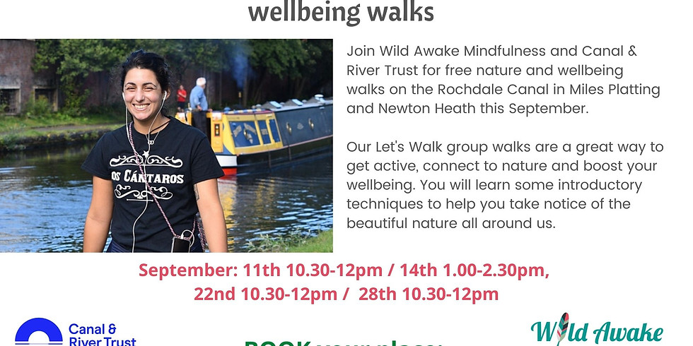 Lets Walk: Manchester walks for mindfulness and wellbeing