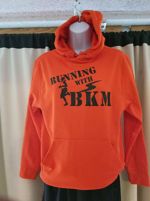 Running with BKM Hoodie