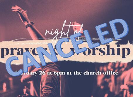 Night of Prayer & Worship