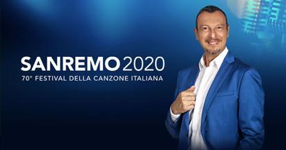 AMADEUS SVELA I 22 CANTANTI DEL FESTIVAL DI SANREMO 2020.