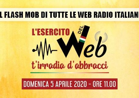 Le Web Radio d'Italia si uniscono. Arriva il loro FlashMob