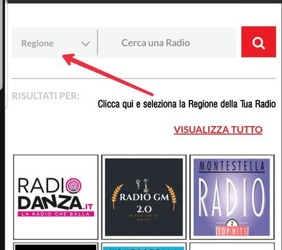 Novità App WEB RADIO ITALIANE