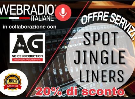 WEB RADIO ITALIANE  con la collaborazione di AG Voice Production