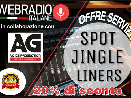 WEB RADIO ITALIANE  con la collaborazione di AG Voice Production