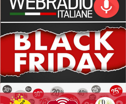 BLACK FRIDAY WEB RADIO ITALIANE