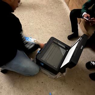 Utilizing our New Printer