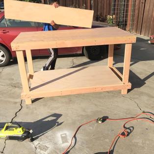 Assembling the Workbench