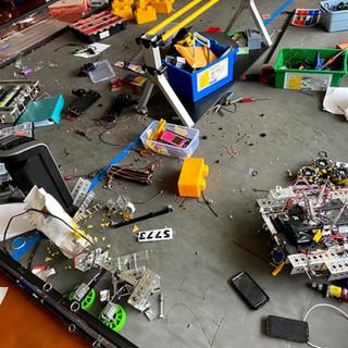 Messy Workspace