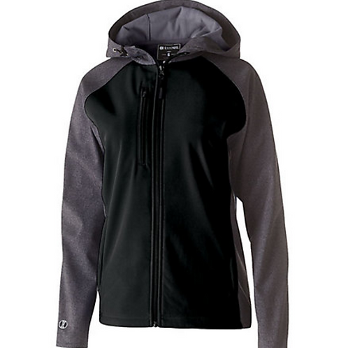 Ladies Soft Shell Hooded Jacket