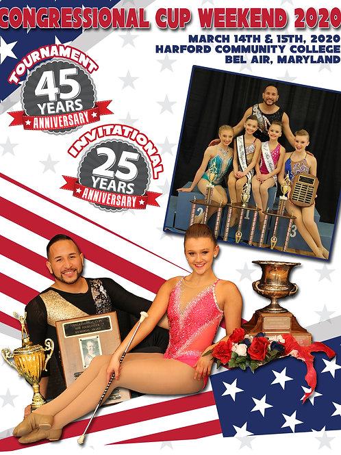 2020 Congressional Cup Program: Collectors Edition