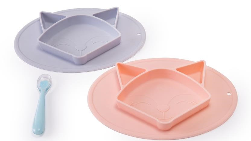 Odorless Multi-functional Platinum Silicone Baby Place Mats