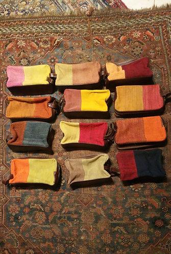 "Tapestry Wash Bag  6"" x 10"" x 4"""
