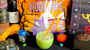Halloween Green Slime Smoothie