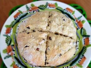 Traditional Irish Soda Bread recipe- Gluten-Free, Sugar-Free