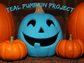 Put  a Teal Pumpkin on Your Porch