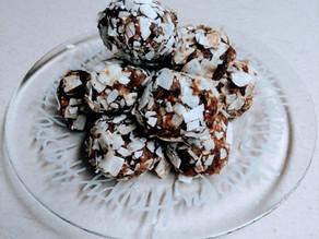 Gingerbread Snowballs (GF/V)
