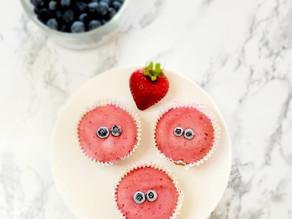 Low Sugar, Low Fat Fruity Fro-Yo Mini Tarts