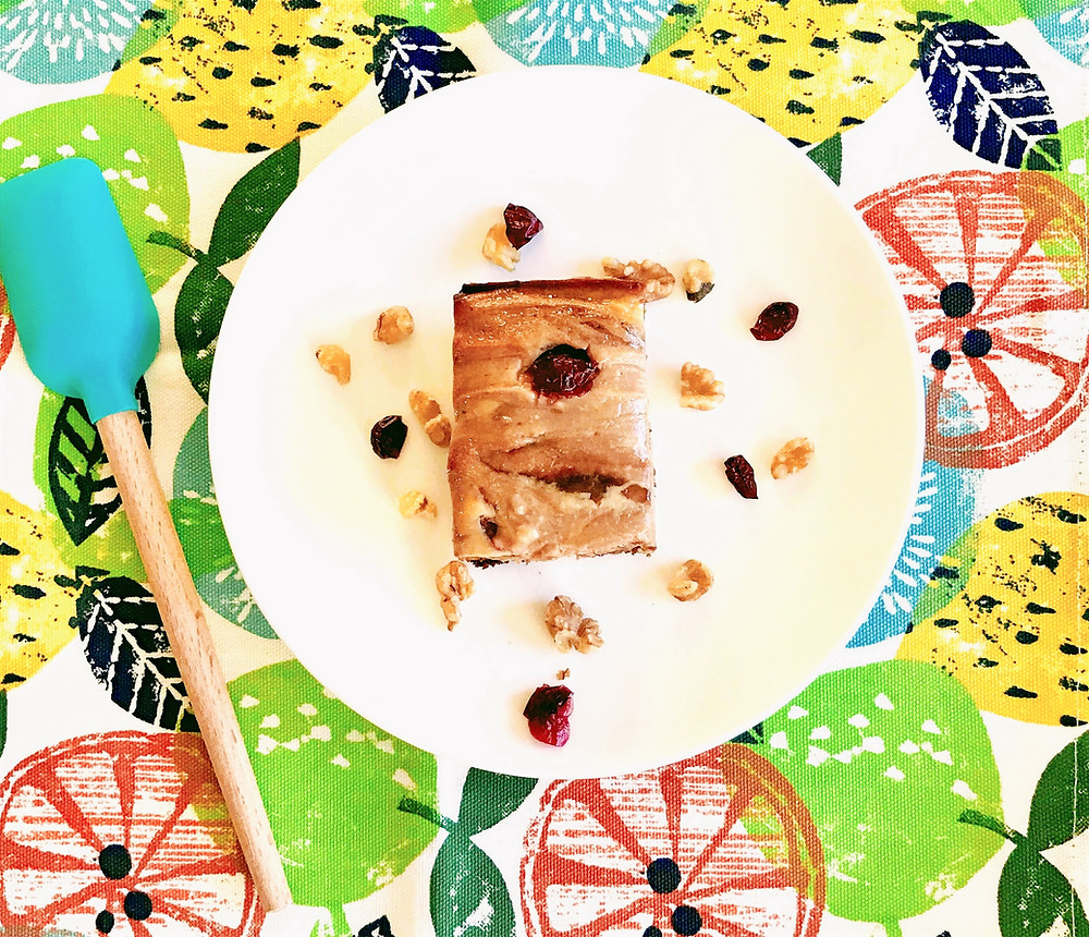 cherry cheesecake walnut brownie