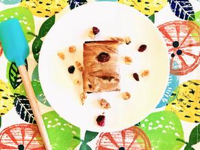Cherry Cheesecake Walnut Brownies