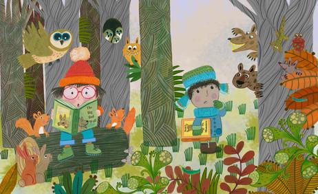 Woodland Reading - Kay Widdowson.jpg