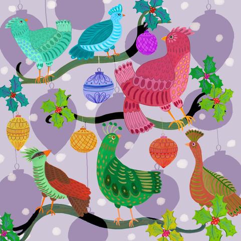 Christmas Birdies - Kay Widdowson.jpg
