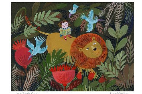 Jungle Ride - Limited Edition Colour Print