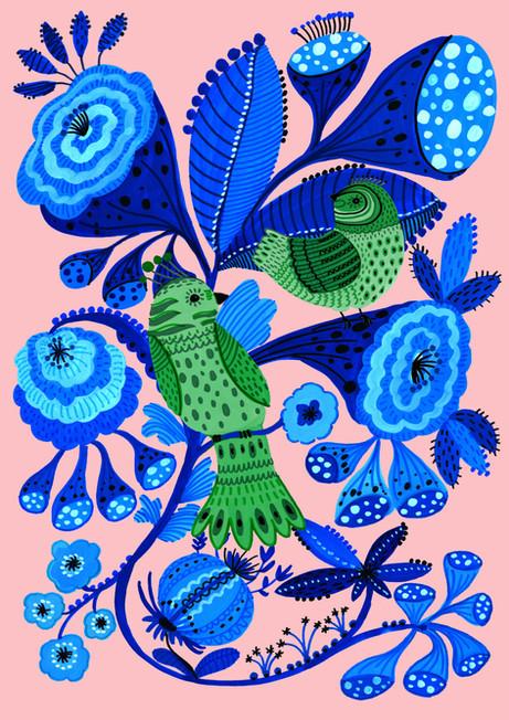 Blue Seedheads - Kay Widdowson .jpg