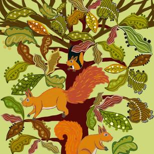 Squirrel tree - Kay Widdowson.jpg