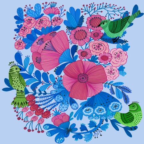 Pink Flower - Kay Widdowson.jpg