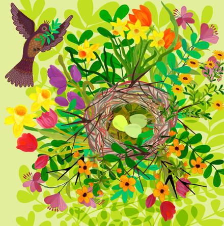 Spring Nest - Kay Widdowson.jpg