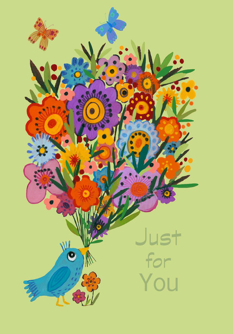 Just for You Bird - Kay Widdowson.jpg