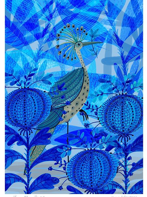 Blue Heron - Limited Edition Colour Print