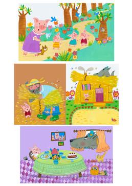 Three Little Pigs - Kay Widdowson.jpg
