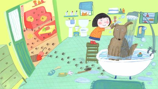 Dog Wash - Kay Widdowson.jpg