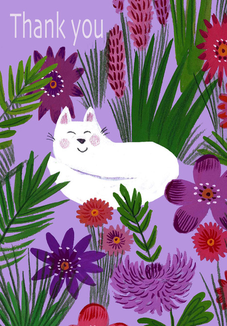 Lavender Cat - Kay Widdowson.jpg