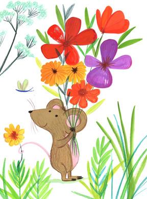 Spring Mouse - Kay Widdowson.jpg