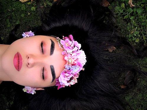 Boho Floral Čelenka Dalia