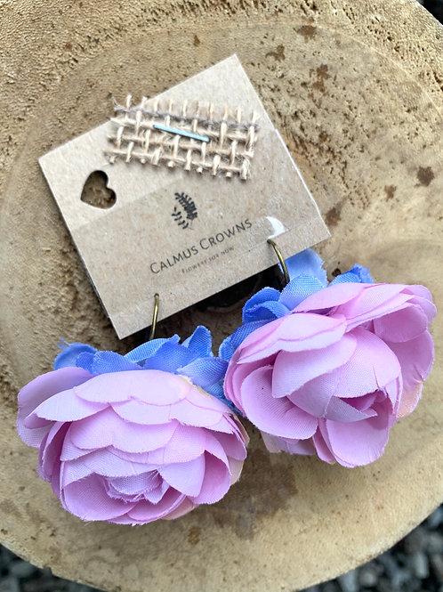 Květinové náušnice Floral Bay