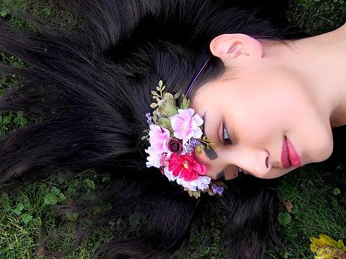 Květinová čelenka Lilien