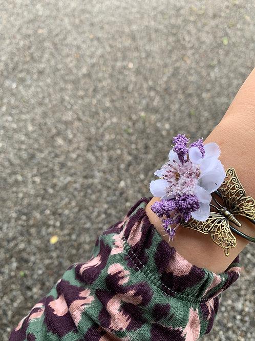 Náramek Violet Butterfly