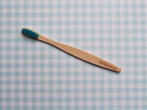 Modrý bambusový kartáček Me Teva